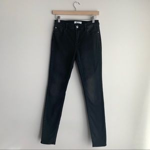 Eighty-Two Black High-Rise Skinny Jeans, Size 5